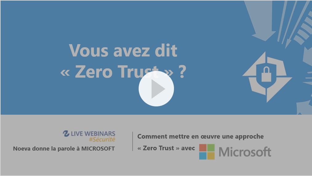 Microsoft-Live Webinar sécurité